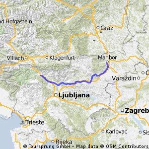 Prvomajska tura:  Maribor - Radovljica