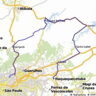 Estrada do Rio Acima a Santa Isabel