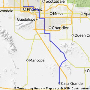 Cycle for Heart 2014, Phoenix to Casa Grande