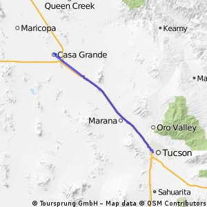 Cycle for Heart 2014, Casa Grande to Tuscon