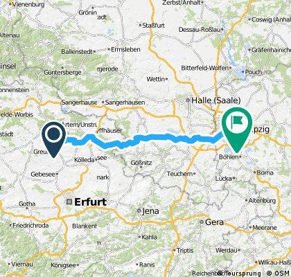 Tour nach Leipzig