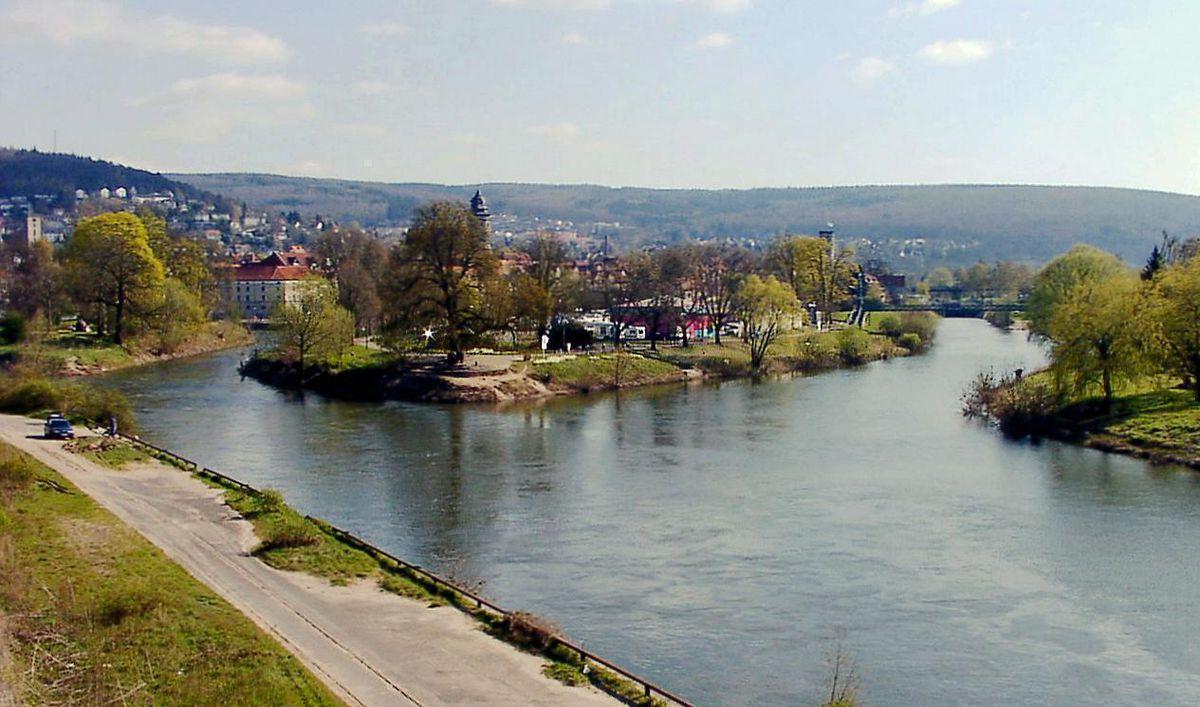 Fluss Durch Hessen