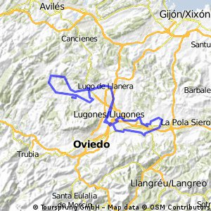 Noreña-Lugo+ACB Una vuelta por Llanera+Lugo-Noreña