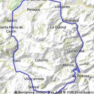 Cabáreceno - Selaya - San Roque - Liérganes - Cabáreceno