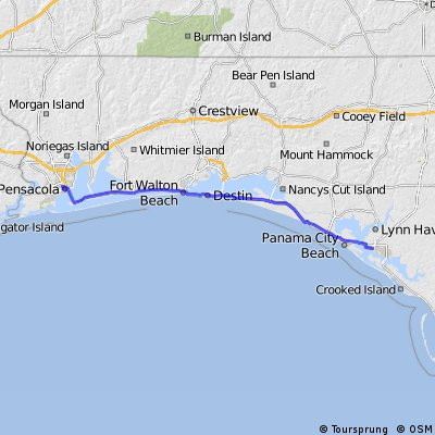 Cycle for Heart 2014, Pensacola to Panama City