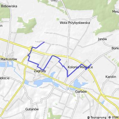 Nowa wersja szlaku czarnego (Garbów)