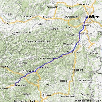 WieNice 01 - Von Wien nach Knittelfeld