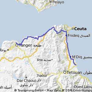 MS23 Martil -  Tanger Hafen