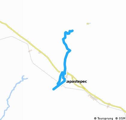 carrera mapa