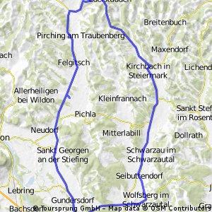 Tour über Schwarzau und Edelstauden