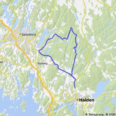 Tveter - Fjerdingsvegen - Rokkefjella
