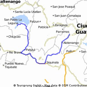 Antigua - Santiago Atitlan - option 2