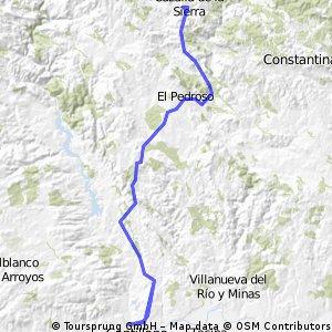 Cantillana - Cazalla de la Sierra