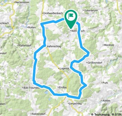 Rundtour nach Ottenschlag über Sallingberg