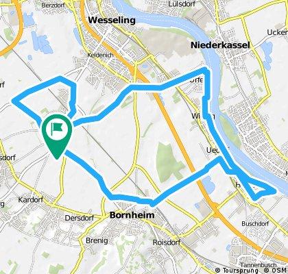 Rundtour Hersel Bornheim + Sechtem