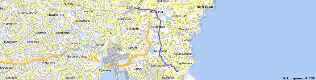 Maroubra to Redfern