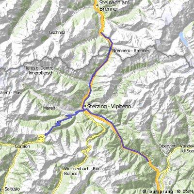 2014_6_Großglockner-Runde_Franzensfeste - Gries am Brenner
