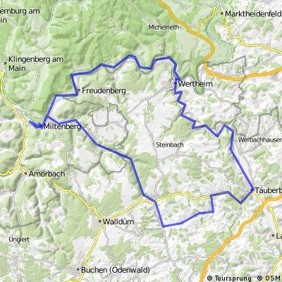 1999_Erfa - Tauber - Main (Miltenberg - Hardheim - Tauberbischofsheim - Wertheim - Miltenberg)