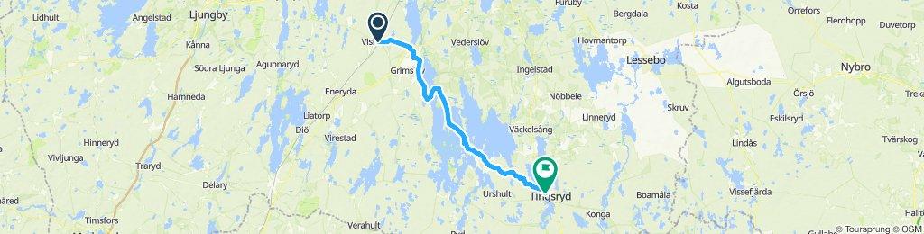 S6: Vislanda - Tingsryd