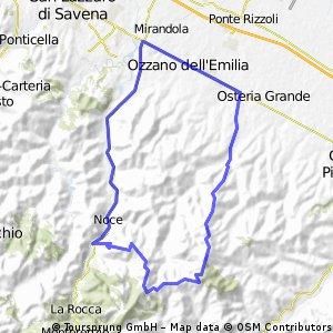 Bologna - Monte Grande - Monte Calderaro