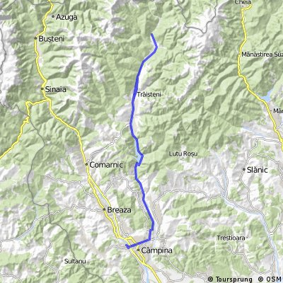 Valea Doftanei - Campina - Paltinu - Tesila - Traisteni