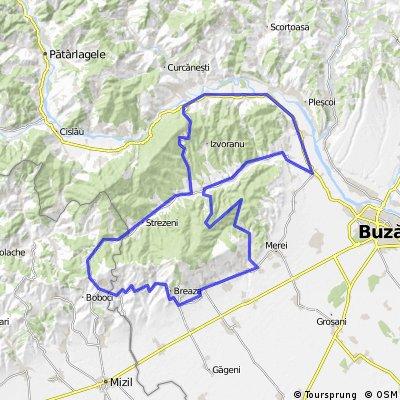 Test route Buzau