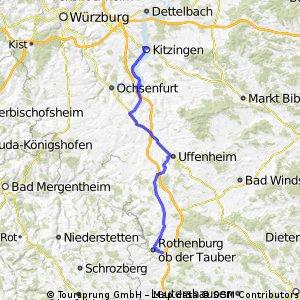 Kitzingen-Rothenburg