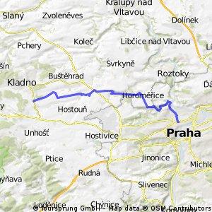 Kladno - Praha (Letná)