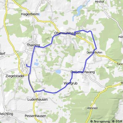 Sportabzeichen 20 km Runde