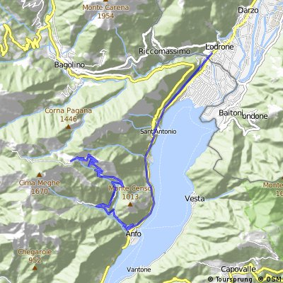Tag 6: 1. Teil Rifugio - Lodrone