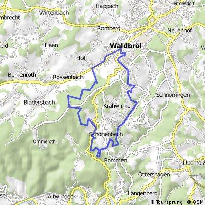 Waldbröl-Spurkenbach-Pochetal-Waldbröl