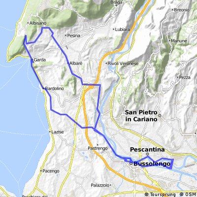 Settimo - Affi - Castion - Garda - Settimo