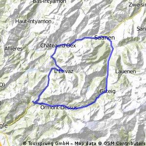 Col de Pillon und Col de Mosses Loop