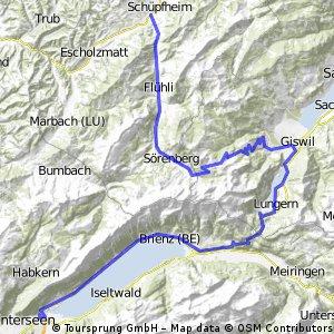 Interlaken-Schüpfheim