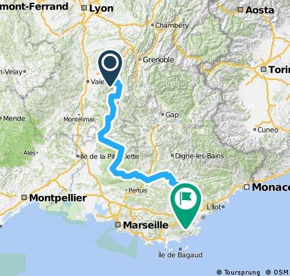 Valence - Nizza 19.05.2014