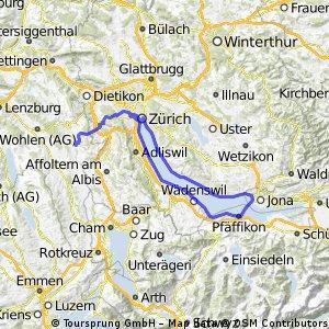 Lake of Zurich - Aargau