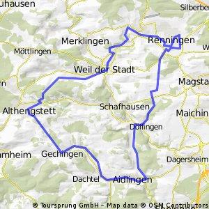 Winfried Gedenktour