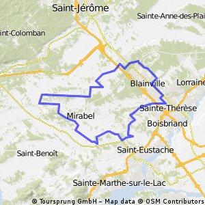 Parcours des persévérants Blainville-Ste-Thérèse-Mirabel