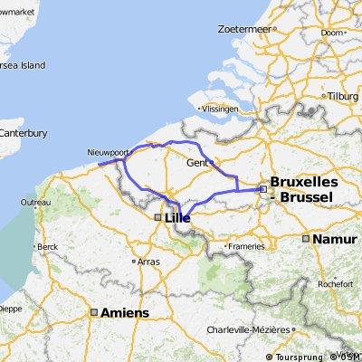 Tour de France et Belgium