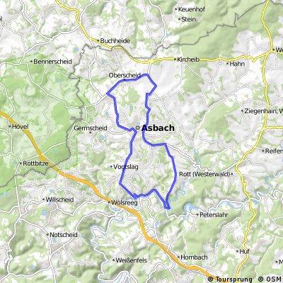 Neustadt-Asbach-Griesenbach-Buchholz-Neustadt