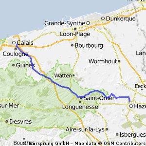 Calais - Hazebrouck