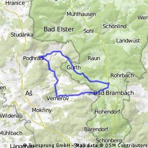 Paseky, Oberbrambach, Doubrava