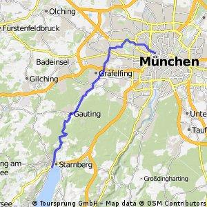 Genussradeln im Münchner Süden - Von Nymphenburg nach Starnberg