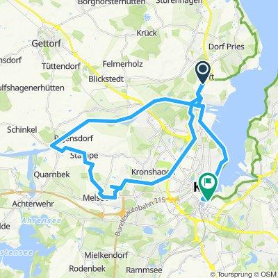 Mettentaun & Kanal & Kiel
