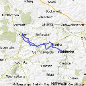 Gefecht bei Gersdorf - 5. Mai 1813 - Schloss Colditz