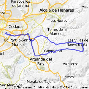 Vicálvaro - Nuevo Batzán (80 kms.)