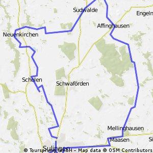 Rundtour - Sulingen  ca 52 KM