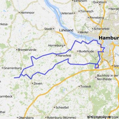 Rhade - Hamburg - Rhade