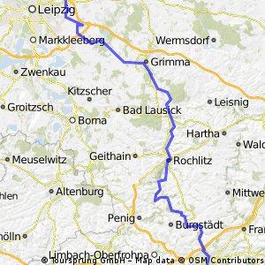 Leipzig - Hohenstein Ernstthal