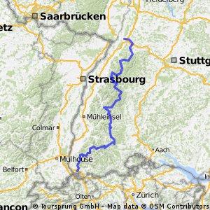 Schwarzwald-Radweg 2014